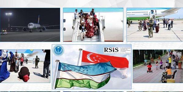 تاکید نمایندگان ازبکستان و سنگاپور بر مبارزه با تروریسم
