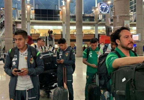 آرامش بیشتر کادر فنی بولیوی در تهران نسبت به میانمار