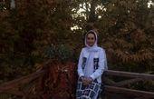 گردش مریم خدارحمی در طبیعت رنگی رنگی پاییزه+عکس