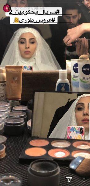 لباس عروس سوگل طهماسبی + عکس