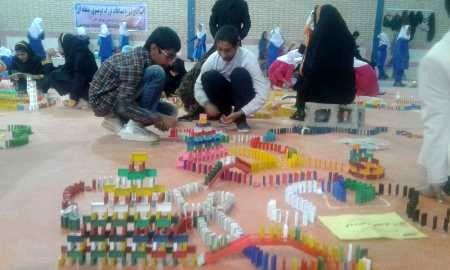 مسابقات دومینوی دانش آموزی در خاش برگزار شد
