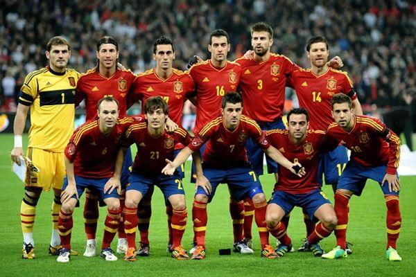 وداع لوپتگی با بازیکنان اسپانیا +تصاویر