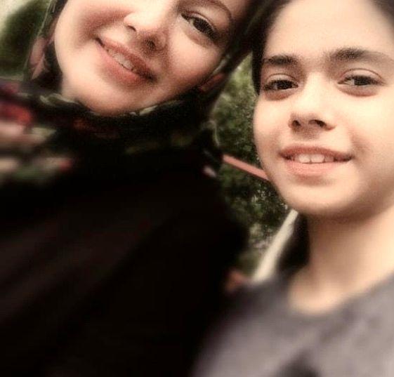 رزیتا غفاری و دخترش + عکس