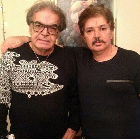 حمید لولایی و برادرش+عکس