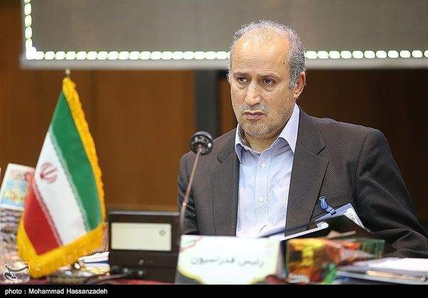 دیدار بازیکنان تیم ملی با روحانی