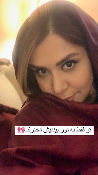 تیپ نجمه جودکی در خانه اش + عکس