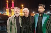 مهران رجبی و دوستانش در کربلا + عکس