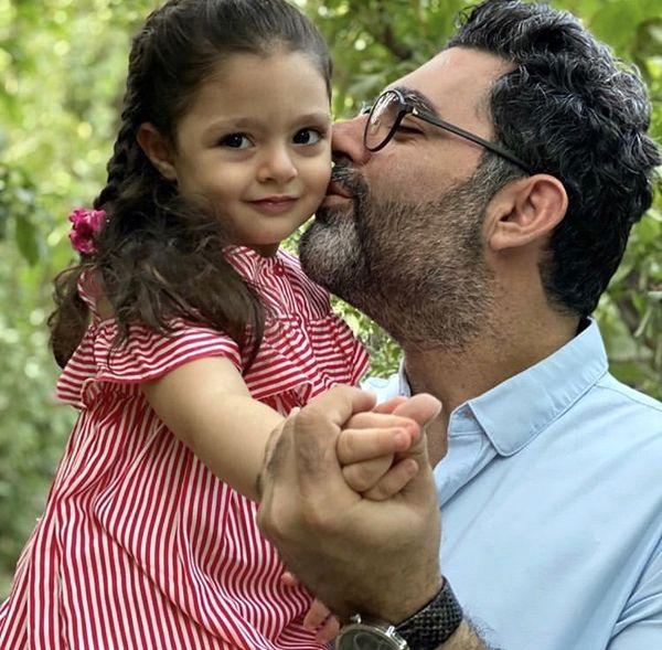 کارگردان مشهور و دخترش + عکس