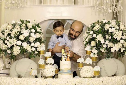 جشن تولد یک سالگی پسر «محسن تنابنده»/عکس