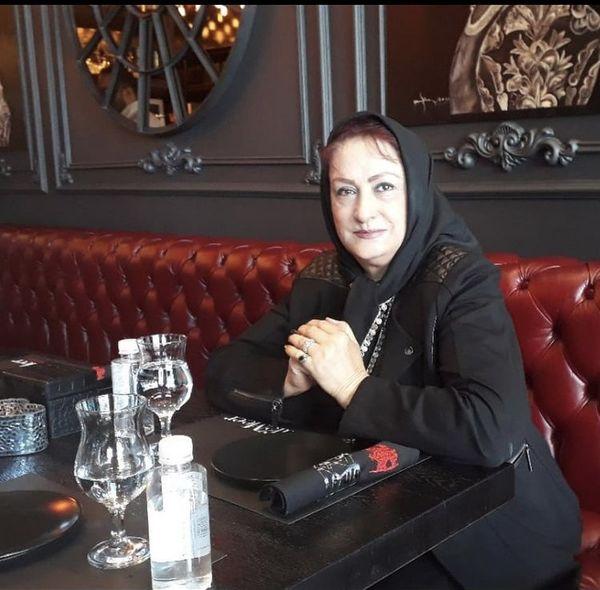 مریم امیرجلالی در رستوران + عکس