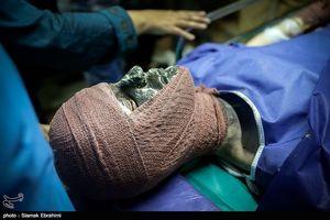 مصدومان شب چهارشنبه آخر سال - بیمارستان شهید مطهری