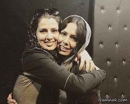 عکس عاشقانه بازیگر روزگار جوانی و خواهرش