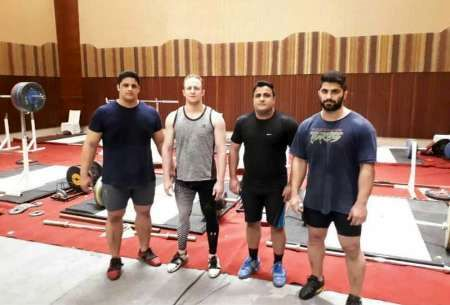 چهار وزنه بردار ایرانی حریفان خود را در قطر کاپ شناختند