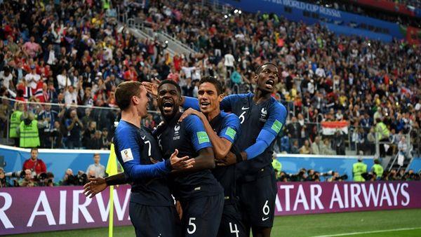 بهترین بازیکن دیدار فرانسه- بلژیک اعلام شد