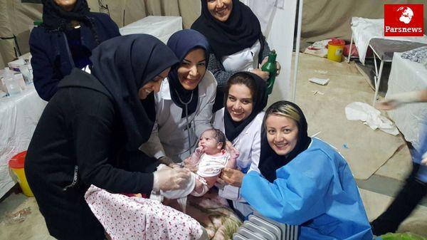 اعزام تیم پزشکی بیمارستان بانک ملی به مناطق زلزلهزده استان