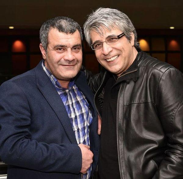 امیر غفارمنش در کنار بازیگر مجید دلبندم + عکس