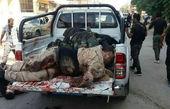 اولین عکس از اجساد خونین تروریست ها در کردستان