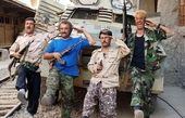 عکس بازیگران پایتخت باوضعیتی جنگ زده و خاکی