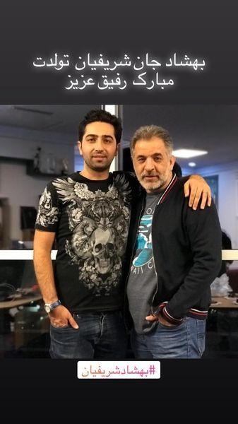 تبریک علی سخنگو بهمناسبت تولد رفیقش + عکس
