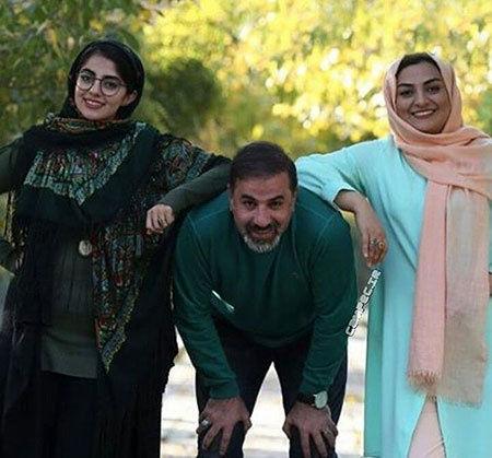 کولی دادن علی سلیمانی به همسر و دخترش+عکس