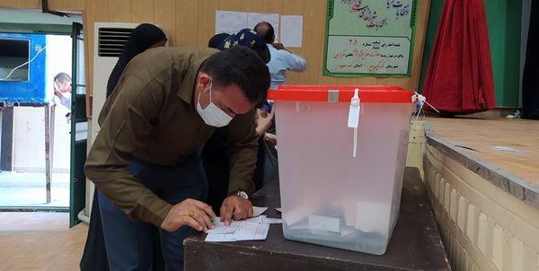 حضور نمایندگان کاندیداها در ستاد مرکزی نظارت بر انتخابات