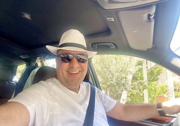 ماشین شخصی علی اوجی + عکس