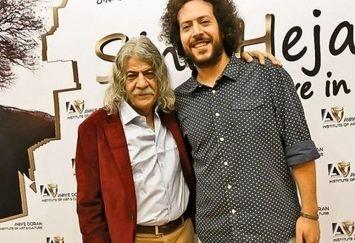 آقای خواننده و پدر بازیگرش+عکس