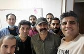 هادی حجازی فر در جمع دوستانش + عکس
