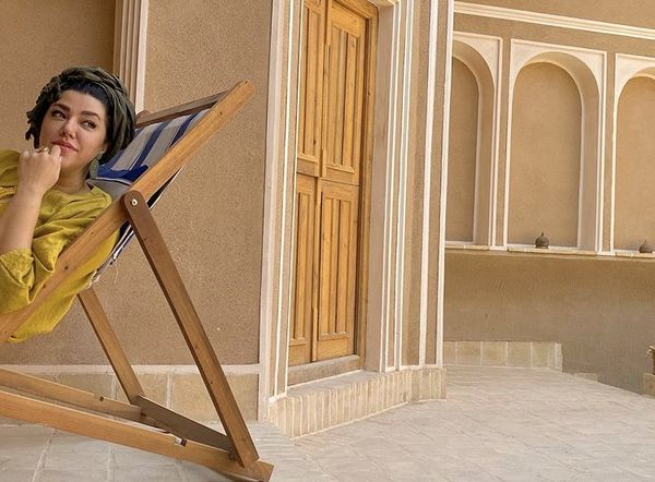 عکس جدید همسر شهاب حسینی + عکس
