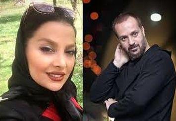 عکس عاشقانه بازیگر «پایتخت» با همسرش