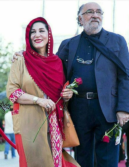 عکس پر از احساس داریوش ارجمند و همسرش بعد از سالها زندگی