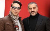 علیرام نورایی و دوستش + عکس