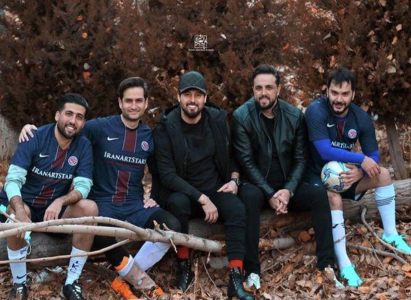 دوستان فوتبالی دانیال عبادی + عکس