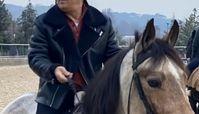 اسب سواری آقای مجری + عکس