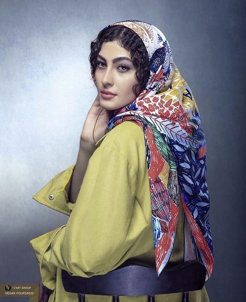 تیپ رنگی مریم مومن + عکس