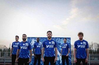 رونمایی از لباس سوم تیم فوتبال آمیان با حضور ستاره ایرانی