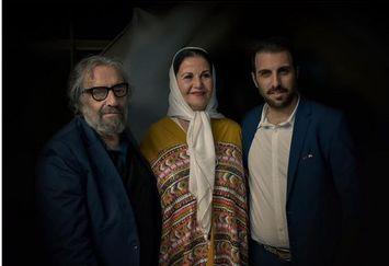مسعود کیمیایی و پسرش در کنار بانوی بازیگر قبل انقلاب+عکس