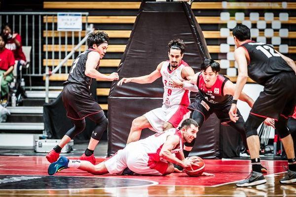 برد بسکتبالیستهای ایران در اولین دیدار دوستانه برابر قطر
