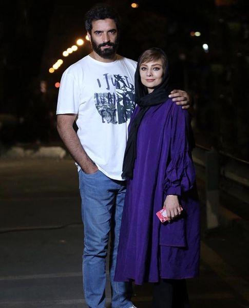 شبانه های یکتا ناصر و همسرش + عکس