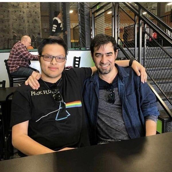 شهاب حسینی و پسر ارشدش در رستوران + عکس