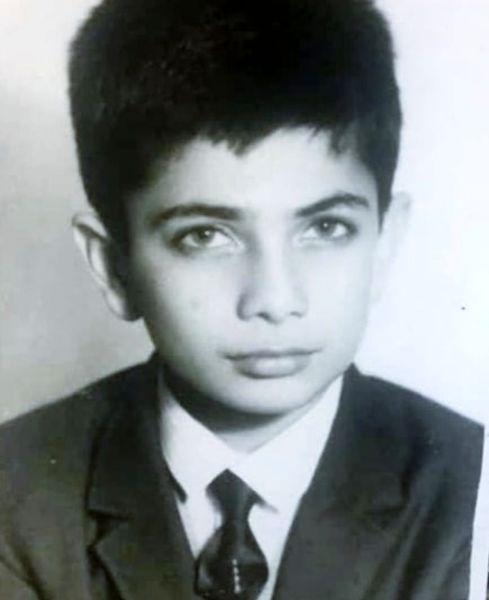 بهمن دان در نوجوانی + عکس