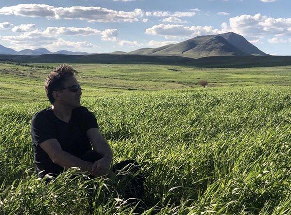 مجید اخشابی در دشتی زیبا + عکس