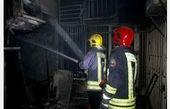 اتصال برق خانه مسکونی را به آتش کشید