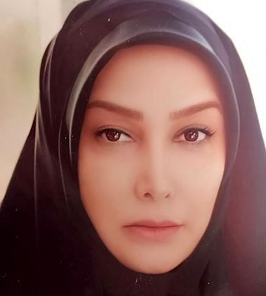 حجاب متفاوت بازیگر بوی باران+عکس