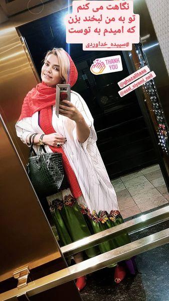 استایل جدید سپیده خداوردی + عکس