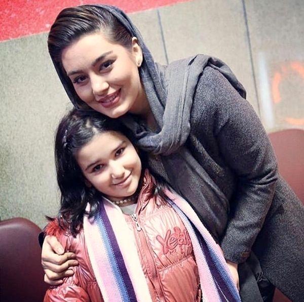 عکس قشنگ سحر قریشی و دخترش