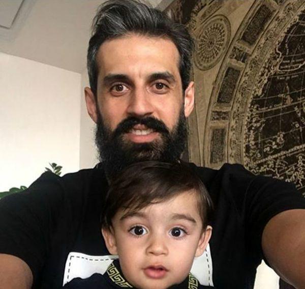 سعید معروف و خواهرزاده متعجبش+عکس
