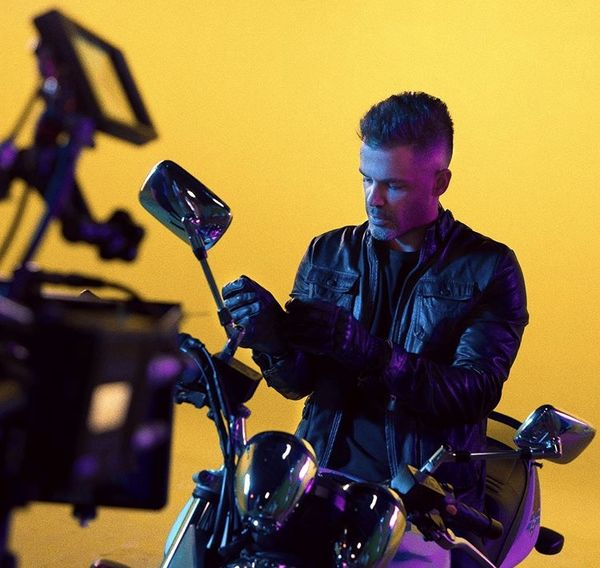 موتور سیکلت حرفه ای سیروان خسروی + عکس