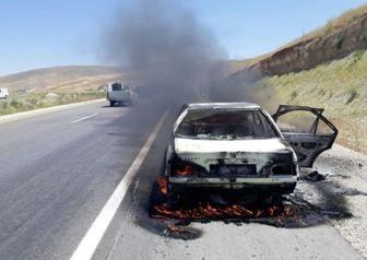 برخورد مرگبار پژو پارس با کامیون فاجعه آفرید