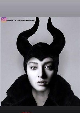 عکس شیطانی همسر اشکان خطیبی